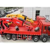 Space Saving Truck Mounted Hydraulic Crane Robust Design Highly Maneuverable Manufactures