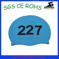 China Silicone Swimming Caps, Swim Caps, Swimming Hats on sale