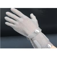 Extended Safty Mesh Stainless Steel Gloves For Butcher Working , XXS-XL Size