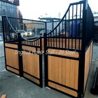 portable 3.6m galvanized steel horse stables for horse yards panel Manufactures