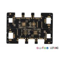 China Multilayer Black PCB Circuit Board Automotive Electronic PCB Assembly UL Approved on sale