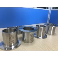 China SS Butt Weld Fitting Stub Ends , Flange lap joint in welding , MSS SP-43 Type A , Type B , Type C , Type D , B16.9 on sale