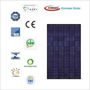 250W Solar Panel with TUV IEC MCS INMETRO IDCOL SONCAP Certificate [ EU Antidumping Duty-Free ] Manufactures