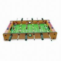 Mini Foosball Table Game with 6 Poles, Measures 69 x 37 x 11cm Manufactures