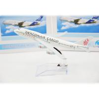 Asian Dragon Air Cargo Stand Scale Model Airplanes  , Child Gift Resin Airplane Model Kits Manufactures