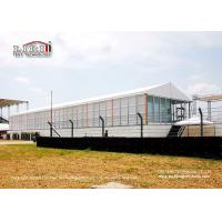 Motorcycle Racing Sport Event Tents ABS And Glass Sidewall Waterfroof Manufactures