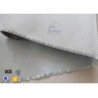 Aluminized Plated Fiber Glass Cloth Decoration Silver Coated Fiberglass Fabric Manufactures