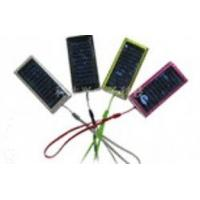 Buy cheap High Capacity Lithium Battery Portable Mobile Phone Solar Charger With Solar from wholesalers