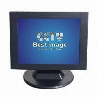 China 10.4-inch CCTV LCD Monitor with 4:3 Panel Ratio, 400cd/² Brightness and 500:1 Contrast on sale