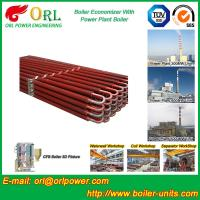 100 Ton Natural Gas Boiler Economiser In Thermal Power Plant Non Toxic Manufactures