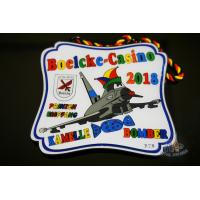 Buy cheap Bespoke Carnivalorden Logo Metal Award Medals Soft Enamel With Epoxy On It And from wholesalers
