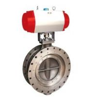 Buy cheap Metallurgy / Oil Engineering Triple Offset Butterfly Valve Bidirectional Zero Leakage from wholesalers
