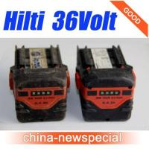 HILTI 36V 2.4Ah CPC B36/2.4 Lithium-Ion Battery Hilti 36volt batteries Manufactures