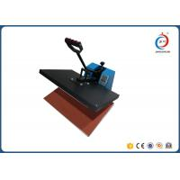 Quality Small Size Clamshell Manual Heat Press Machine Iron Printing Press On T Shirt for sale