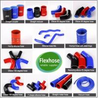 China High temperature flexible silicone radiator truck scania rubber hose on sale