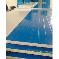 China Heat-resistant Glass EPS Sandwich Roof Panel Metal Roofing Sheets For Cladding on sale
