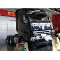 Euro 2 Emission HOWO 6x4 Tractor Truck , 420HP Engine Truck Tractor Head Manufactures