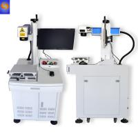China 20W 30W Metal Marking Machine Fiber Laser for PVC on sale