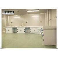 Acid And Alkali Resistant Chemical Lab Furniture PP Countertop With Base Cabinet Manufactures