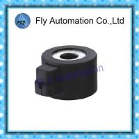 Plug Type CNG LNG Automotive Solenoid Valve Coil Connector  Φ 16.1 × 32mm DC12V 18W Manufactures