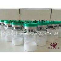 Injectable Muscle Growth Peptides , Pentadecapeptide BPC 157 Peptide CAS 137525-51-0 Manufactures