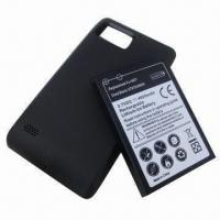 PDA Battery for Motorola Droid Bionic, Extended with Cove and 4,000mAh Capacity Manufactures
