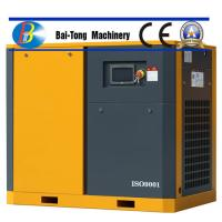 Rotary Electric Screw Industrial Air Compressor IP54 / IP55 For Sandblasting Manufactures