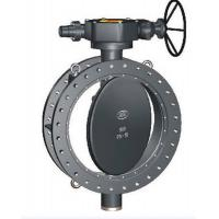 Quality Electric Actuated double Flanged Butterfly Valve for sale