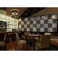 Waterproof Commercial 3D Decorative Wall Panel With Thermal Insulation Materials Manufactures