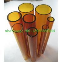 China clear and colored borosilicate glass tube on sale