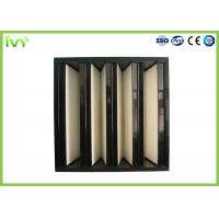 Compact Mini Pleated Panel Air Filters , Portable Hepa Filter 0.3um Porosity Manufactures