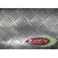 5052 Anti Skid Aluminum Checkered Plate Bright Finished ISO Approval Manufactures