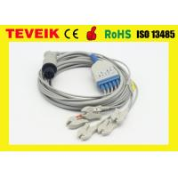 China 5 leads ECG cable with snap for Mindray patient monitor on sale