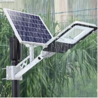 China 6500K Waterproof Solar Powered LED Street Lights High Power Garden Lighting on sale