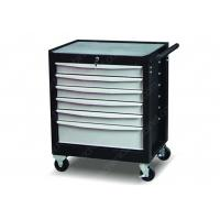 Custom Color Drawer Slides Ball Bearing Tool Chest , Roll Around Tool Box 6 Drawer Manufactures