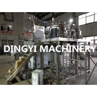 Tilting Hydraulic Lift  Cosmetic Cream Mixers High Shear Speed 1200-3500rpm Manufactures