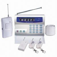 GSM Alarm Sytem with Color LCD Screen, 10 Wireless Zones, Call 3 Preset Phone Numbers When Alarm Manufactures