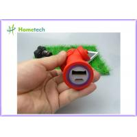 Small Battery Operated Lipstick Power Bank 2600mAh Custom Fire Hydrant Shape Manufactures