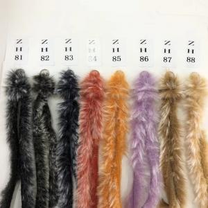 China scarf fancy yarn mills wholesale oeko tex soft warm winter polyester faux fur yarn hand knitting yarn on sale