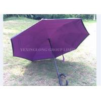 Promotional Use Auto Open Close Inverted Umbrella , Hands Free Reversible Umbrella