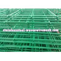 Low Carbon Steel Welded Wire Mesh Fencing Panels Curved Excellent Corrosion Resistance Manufactures