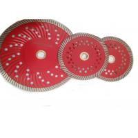 D125mm Granite Diamond Turbo Saw Blade with Cooling Holes Manufactures