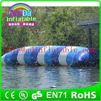 inflatable water game jump water blob for water park theme inflatable jumping pillow Manufactures