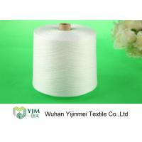 Raw Virgin 100 Spun Polyester Sewing Thread For Knitting / Weaving Manufactures