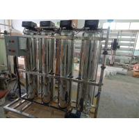 Reverse Osmosis Water Softener Filter System / Stainless Steel Commercial Water Softener Manufactures