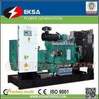 Hot-selling 250Kva CUMMINS diesel power generator set open types with fuel tank Manufactures