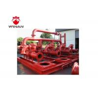 Fire Sprinkler Engine Driven Packaged Fire Pump Systems 740-3000r/Min Speed Manufactures