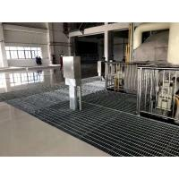 China 32 X 5mm Press Welded Platform Serrated Steel Grating With Long Life on sale