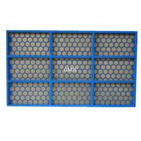 API FSI 5000 Shale Shaker Screen Steel Frame SS304 / 316 Material Manufactures