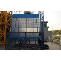 Rack and Pinion Building Material Hoisting Equipment / Construction Lift 1T - 3.2 T Manufactures